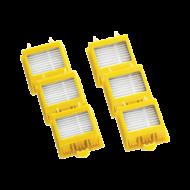 Sada třech filtrů Dual Aero Vac pro robotický vysavač Roomba série 700